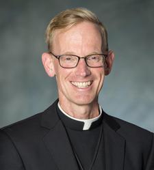 A photo of Fr. Allan MacDonald, CC